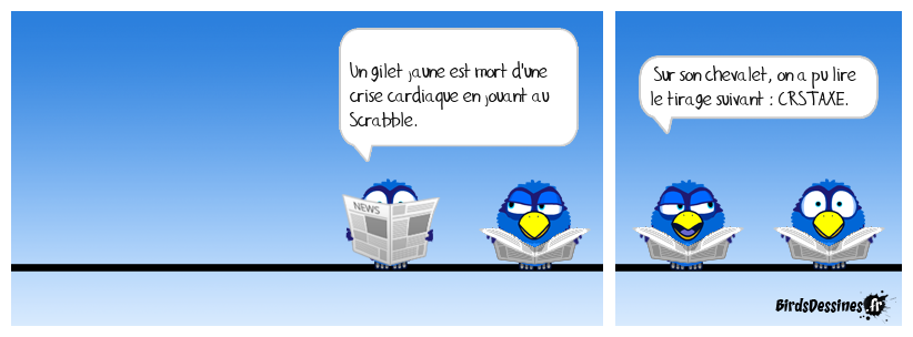 Le Scrabble tue !