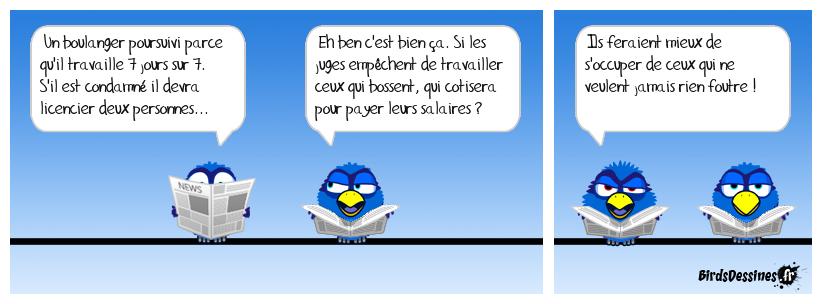 La logique de la justice française.....