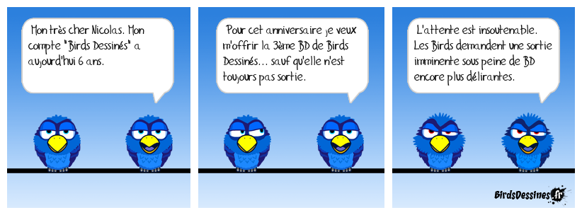 Joignez-vous au mouvement de protestation Birds et Birdettes pour la bonne cause
