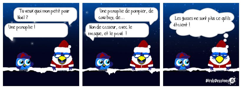La demande au Père Noël
