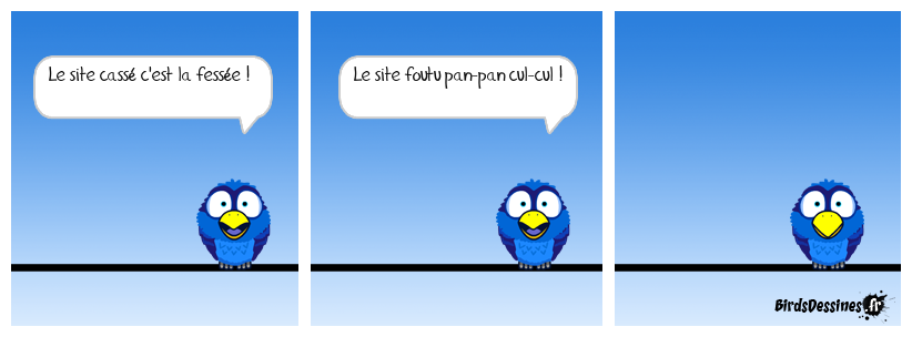 ♪ BD dédiée au webmaster ! ♫
