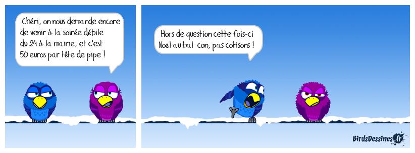 Joyeux Noël, les Birds :)