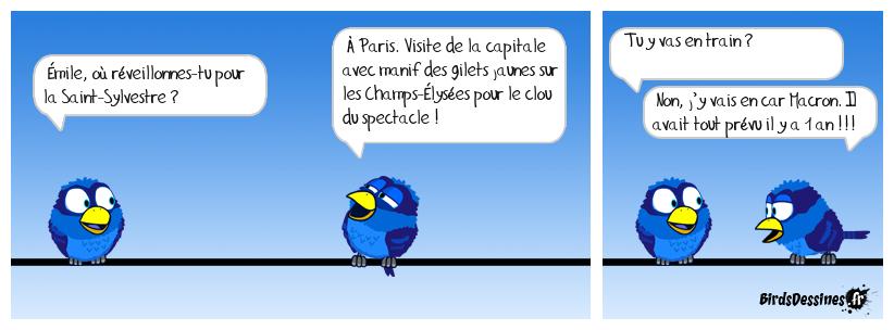 Soirée spectacle sur les Champs-Élysées !