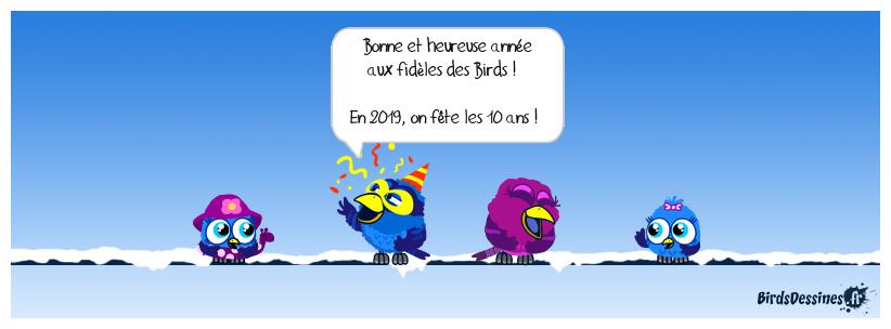 Bonne année les amis !