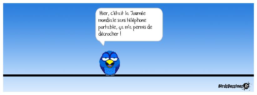 Journée mondiale sans téléphone portable