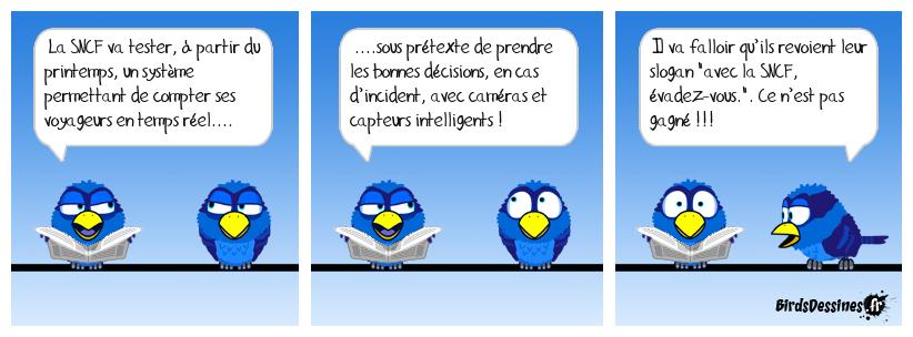 Big Brother à la SNCF !