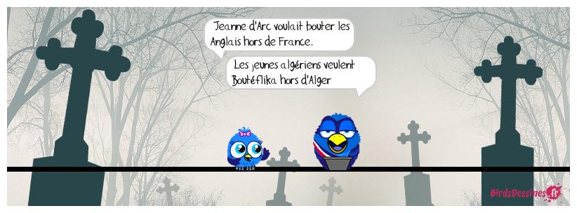 Orléans - Alger  : même combat ?
