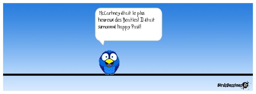 Imagine happy Paul