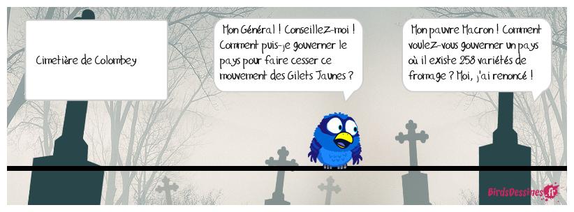 Emmanuel ferait mieux d'aller à Lourdes !