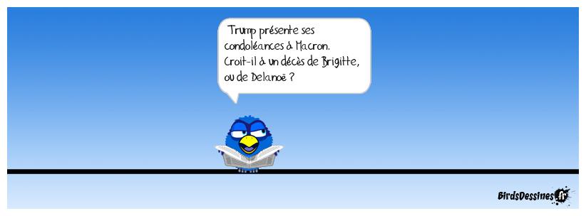 La dernière de Trump