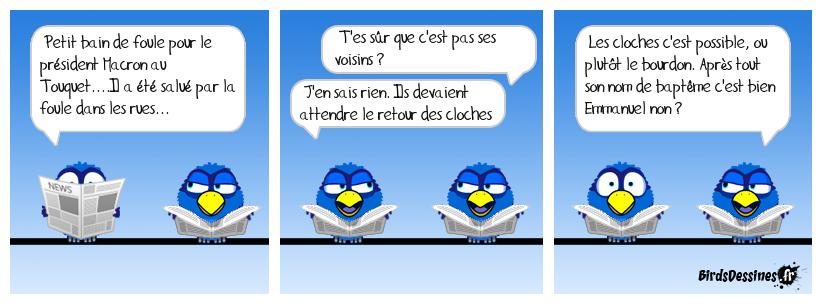 Quand les cloches de Notre Dame se réfugient au Touquet....