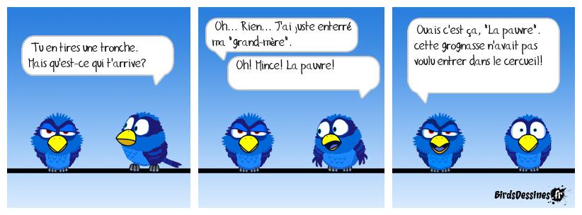 Pauvre grand-mère
