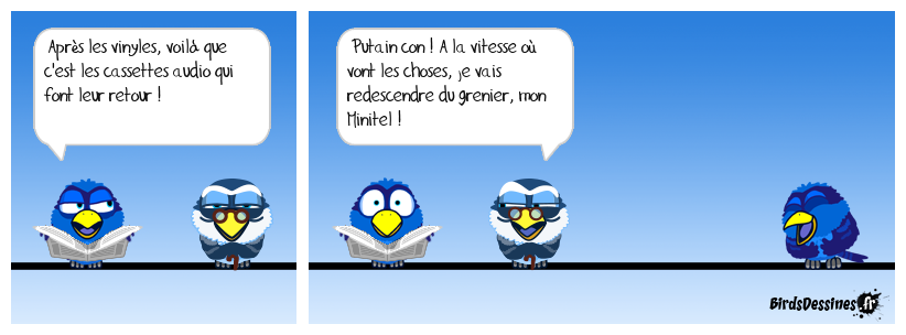 On avance et on recule, comment...