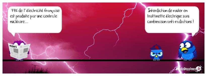 La trottinette électrique, un danger pour la santé !