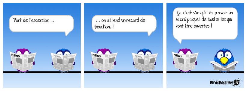 Record de bouchons !