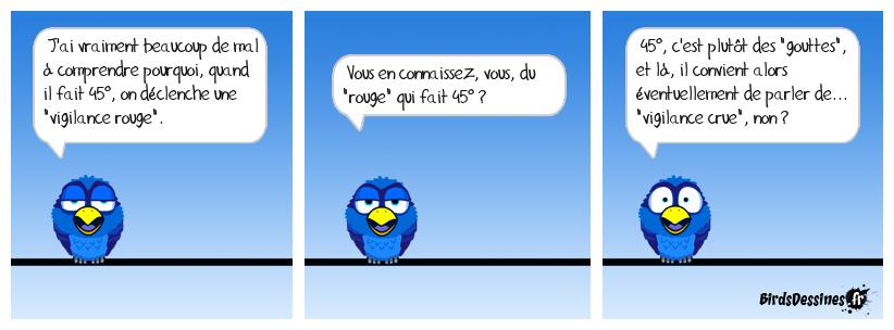Pour Météo-France, vigilance