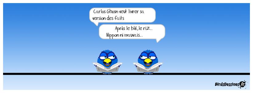 Carlos Ghosn n'a plus de sushis