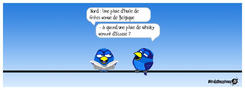 Si même les frites ne peuvent pas réunir Belges et Nordistes…