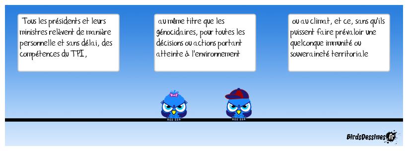 Proposition (utopique...) des petits Birds... pourquoi pas ?