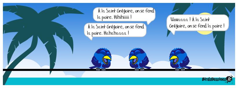 Le dicton des Birds