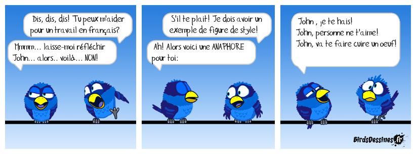L'anaphore