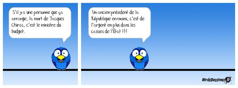 Le décès de Jacques Chirac ne fait pas que des malheureux !
