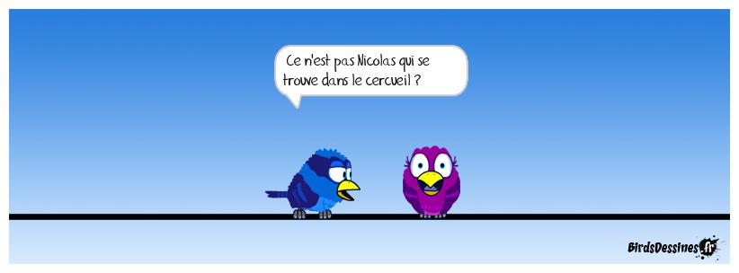 Mais qu'a dit Hollande à Carla lors de l'hommage à JC ( Vu par Mister blues)