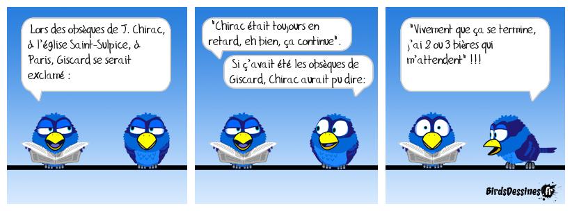 Giscard, toujours le mot pour rire !