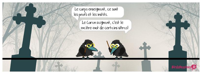 Homophone, Me Corbac, un homophone