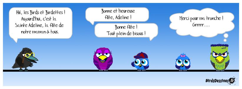 Bonne fête, Adeline !