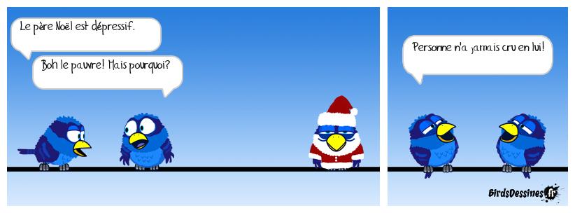 Allô allô y a personne au bout du fil? Faut s'réveiller Mc Fly... euh Père Noël.