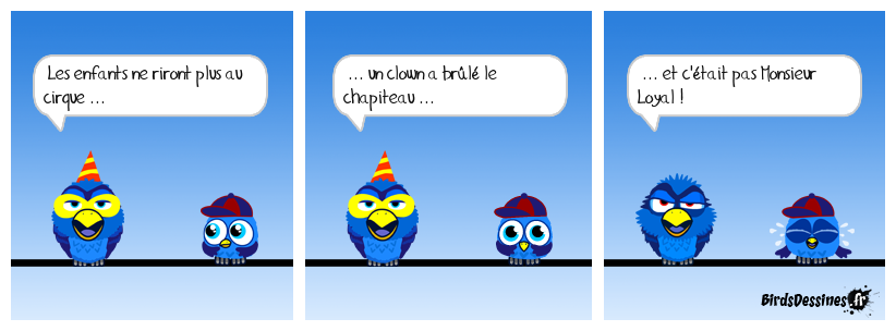 Un clown triste ou un triste clown !