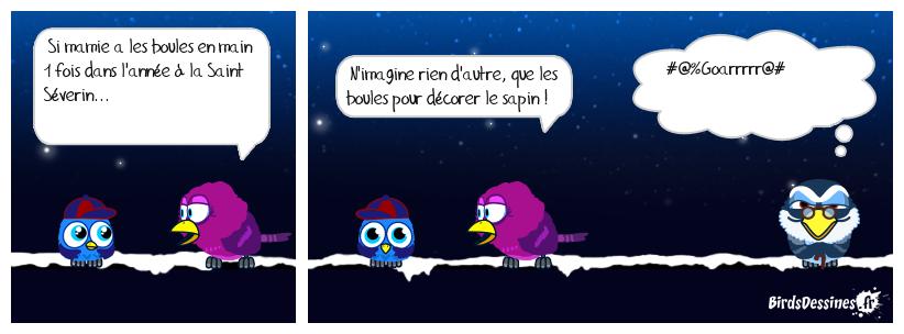 Le dicton de Madame Mister blue