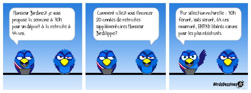 Nouvelle réforme birdinesque.