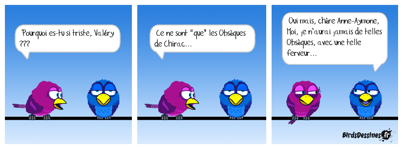 Giscard aux Obsèques de Chirac.