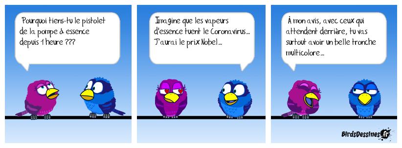 Essence et Coronavirus...