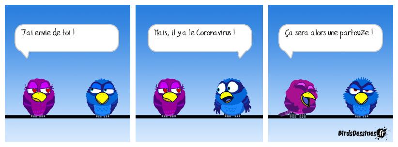 Partouze avec le Coronavirus
