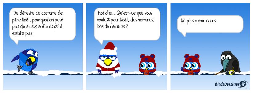 Le faux père Noël