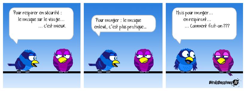 Masque et Mastication (ou Masquitation ?)...
