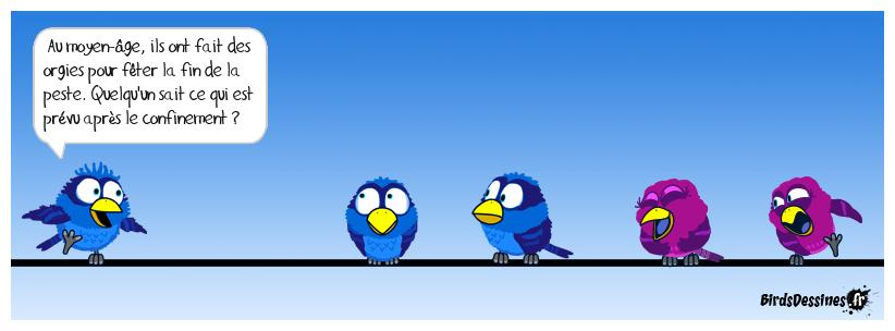 Si un bird a des idées .........
