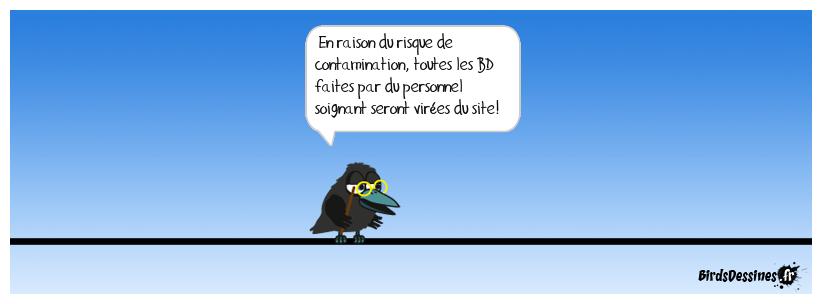 Message de Maitre Corbac
