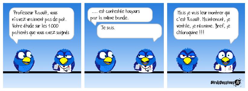 Nouveau verbe : chloroquiner !