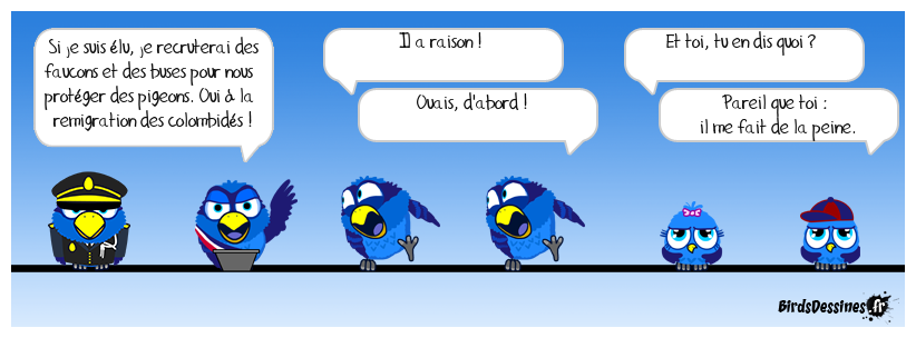 Haro sur les pigeons ! 2