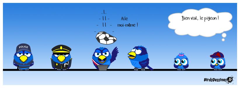 Haro sur les pigeons ! 3
