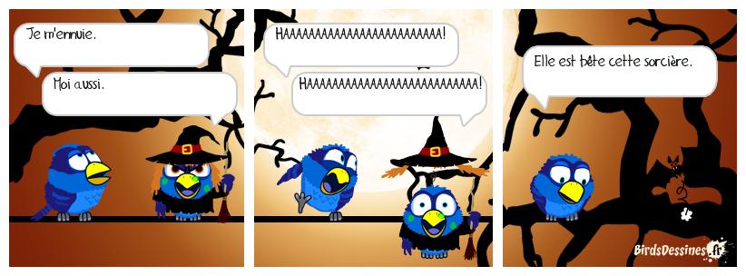 La sorcière très bête