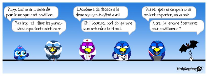 """""""Aux masques citoyens !"""""""