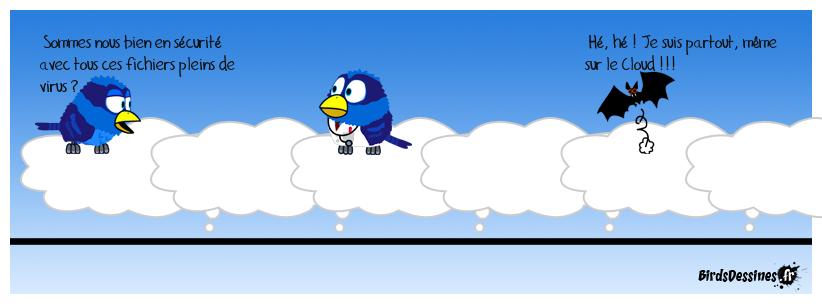 Je suis même sur le Cloud !!!