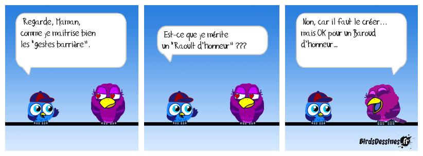 Baroud d'honneur...