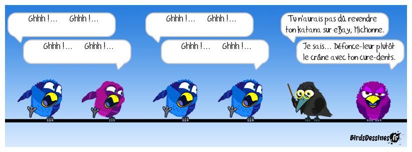 The walking Birds