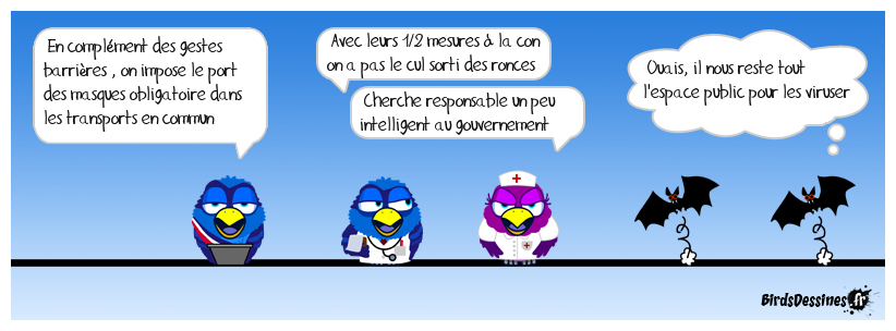 """""""Aux masques citoyens !"""" suite"""